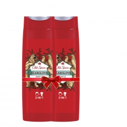 OLD SPICE SHOWER GEL BEARGLOVE 6x400ML 1+1 ΔΩΡΟ