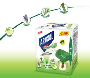 AROXOL ΥΓΡΟ NATURAL FOUR SET (1Σ+1R) 1,50€