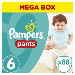 Pampers Pants Μέγεθος 6 (15+kg), 88 Πάνες-βρακάκι