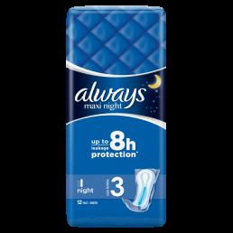 Always Σερβιέτες Maxi Night (12τεμ)