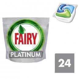Fairy Platinum Original Ταμπλέτες Πλυντηρίου Πιάτων 24 ανά συσκευασία