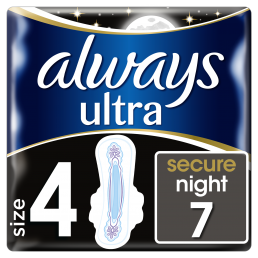 Always Σερβιέτες Ultra Secure Night (7 τεμ) pz