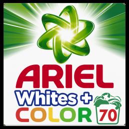 Απορρυπαντικό Ariel σκόνη All Loads 70 Μεζούρες