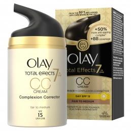 Olay Total Effects 7in1 Ενυδατική Κρέμα Ημέρας CC Fair To Medium 50ml