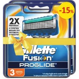 Gillette Fusion Proglide Μanual Aνταλλακτικά 3 X2 ΤΕΜΑΧΙΑ -15%