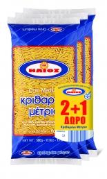 ΚΡΙΘΑΡΑΚΙ ΜΕΤΡΙΟ 500gr 2+1Δ ΗΛΙΟΣ