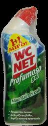 NET WC PROF MOUNTAIΝ FRESH 750ml 1+1 ΔΩΡΟ