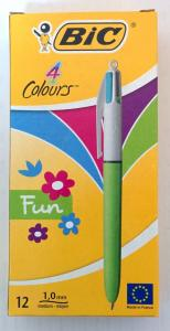 BIC ΣΤΥΛΟ 4 COLOURS FASION BX12BCL
