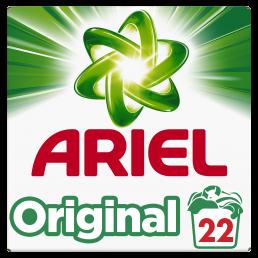 Απορρυπαντικό Ρούχων Ariel σκόνη 22 Μεζούρες