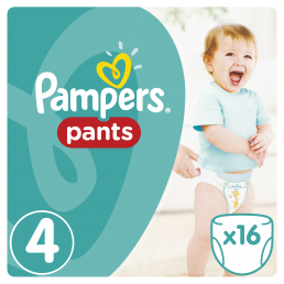 Pampers Pants Μέγεθος 4 (8-14kg), 16 Πάνες-βρακάκι cp