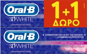 ORAL-B 3DW VITALIZING FRESH 12x(75+75) ML