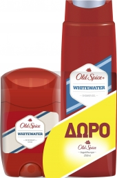 OLD SPICE WHITEWATER D/S 50ML+ΔΩΡΟ S/G 250ML