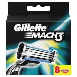 Gillette Mach3 Ανταλλακτικά (8 τεμάχια)