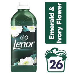 LENOR EMERALD & IVORY FLOWER 26ΜEZ