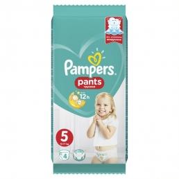 Pampers Pants Μέγεθος 5 (11-18kg), 4Πάνες-βρακάκι