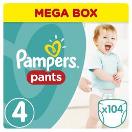 Pampers Pants Μέγεθος 4 (8-14kg), 104 Πάνες-βρακάκι