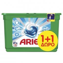 Κάψουλες Ariel Pods 3σε1 Alpine - 15 Κάψουλες(1+1 Δώρο)