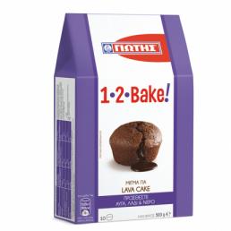 BAKE! ΜΙΓΜΑ ΓΙΑ SOFT LAVA CAKE (ΓΙΩΤΗΣ)