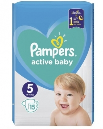 PAMPERS ACTIVE BABY ΜΕΓ 5 8X15 CP