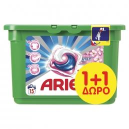 Κάψουλες Ariel Pods 3σε1 Touch of Lenor Fresh - 15 Κάψουλες(1+1 Δώρο)