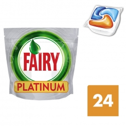 Fairy All in One Orange Ταμπλέτες Πλυντηρίου Πιάτων 24 ανά συσκευασία