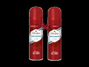 Old Spice Whitewater Αποσμητικό Σπρέι για Άντρες 150 ml 1+1 ΔΩΡΟ