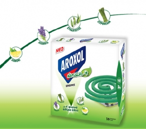 AROXOL SPIRAL NATURAL FOUR 10TMX