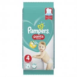 Pampers Pants Μέγεθος 4 (8-14kg), 4Πάνες-βρακάκι