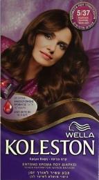 Wella Koleston Κρέμα βαφή 5/37 Καστανό Χρυσαφί + Κρέμα αναζωογόνησης χρώματος 50ml