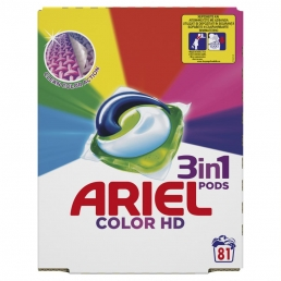 ARIEL PODS 3in1 COLOR 1X81TMX