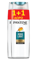 PANTENE ΣΑΜΠ ΑQUA LIGHT 6x250ML+250ML ΔΩΡΟ