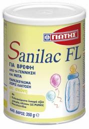 Γιώτης Sanilac FL Βρεφικό Γάλα 350gr