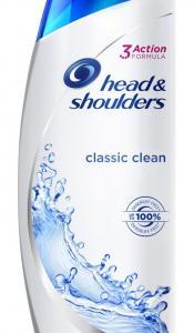 Head & Shoulders Σαμπουάν Καθαριότητα/Control για Κανονικά/Λιπαρά Μαλλιά 360ml