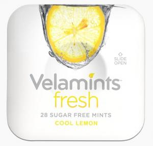 VELAMINTS FRESH COOL LEMON 20gr