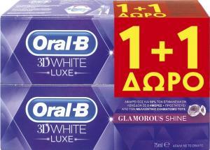 ORAL-B 3D WHITE LUXE GLAMOUR SHINE 12x(75+75) ML