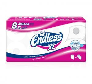 ENDLESS XL Ρ/ΥΓΕΙΑΣ 8 ΡΟΛΑ (145GR)