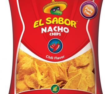 NACHO CHIPS CHILI 10x225gr EL SABOR
