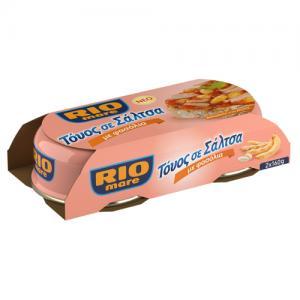 Rio Mare Τόνος σε σάλτσα με φασόλια 2x160gr