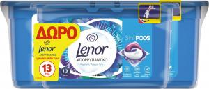 LENOR PODS 3in1 WATER LILY 6X(27+13ΤΜΧ)