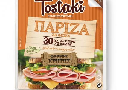 CRETA FARMS TOSTAKI ΠΑΡΙΖΑ ΦΕΤΕΣ 160gr