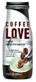 MODELLO COFFEE LOVE COCONUT DOUBLE SHOT ESPRESSO  12x280ML