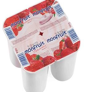 ΓΙΑΟΥΡΤΙ MONFRUIT STRAWBERRY 6x(4x125gr)