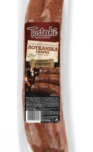 CRETA FARMS TOSTAKI ΛΟΥΚΑΝΙΚΑ ΣΧΑΡΑΣ 400gr