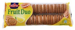 NORA FRUIT DUO COOKIES 24x250G