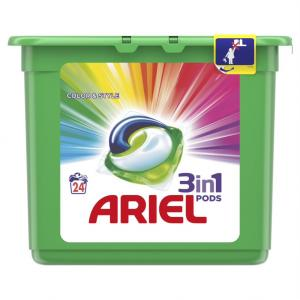 ARIEL PODS 3in1 COLOR 3X24TMX