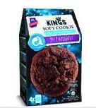 KINGS SOFT COOKIE DARK CHOCO 10X180g