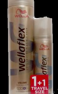 WELLAFLEX  SPRAY ΟΓΚΟΥ ΠΟΛΥ ΔΥΝΑΤΟ (250+75)ML