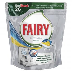 FAIRY ULTRA CAPS PLATINUM ΛΕΜΟΝΙ 26