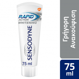 Sensodyne Rapid Action Whitening, Οδοντόκρεμα για τα Ευαίσθητα Δόντια 75ml