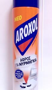 AROXOL ΑΦΡΟΣ ΓΙΑ ΜΥΡΜΗΓΚΙΑ  300ML